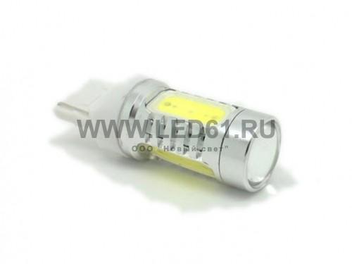 Автомобильная лампа T20 7.5Вт 4G белая