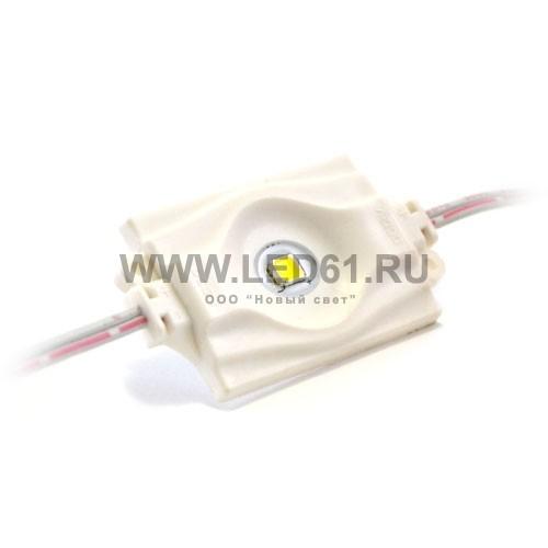 Светодиодный модуль для рекламы, 1 сверхмощный светодиод, белый
