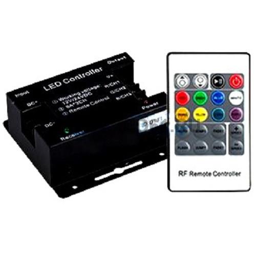 Светодиодный контроллер LN-RF20B-S-24 (24V, 576W, ПДУ 20кн)