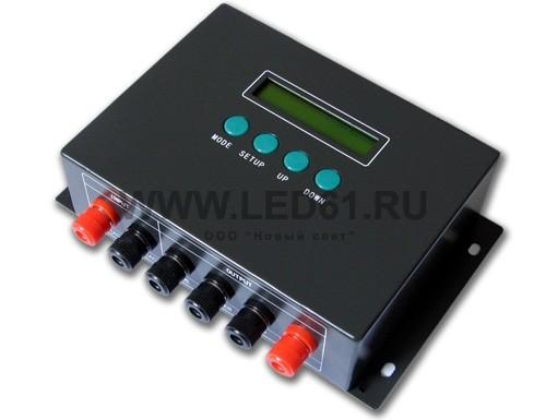 Светодиодный RGB/DMX контроллер, 12-24В, 8А на канал