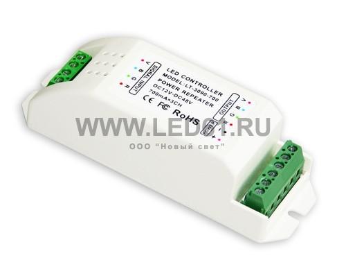 Репитер мощности постоянного тока 12-48В, 3 канала 700мА