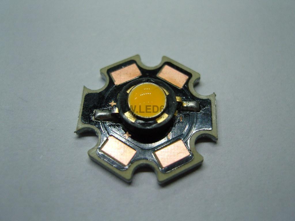 Светодиодный кластер 1Вт белый 80-95лм