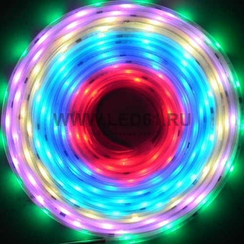 Светодиодная лента 12V IP65 5050/48 LED (DreamColor)