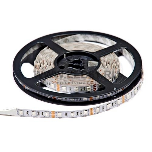 Открытая светодиодная лента RGB 12В 60шт/м