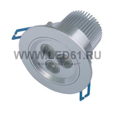Светильник встраиваемый светодиодный NS-533-D1