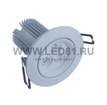 Светильник встраиваемый светодиодный NS-535-D1
