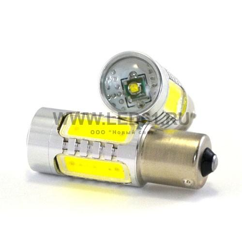 Автомобильная лампа BA15s 11Вт 5G белая