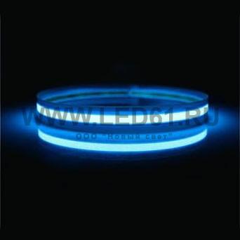 Неоновая лента небесно-голубая 1см x 1м