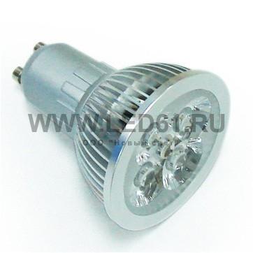 Точечная светодиодная лампа GU10 4x1 Вт