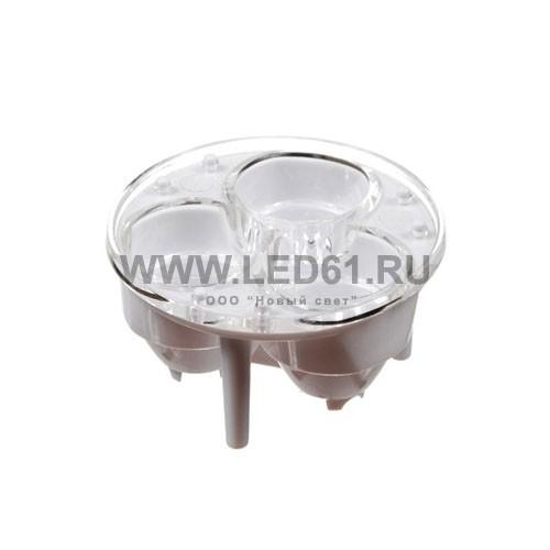 Линза для мощных светодиодов тип4