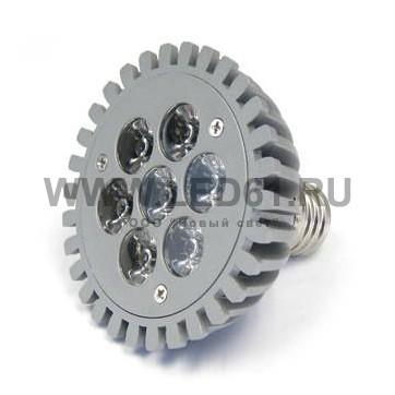 Светильник точечный светодиодный PAR30 7x1 Вт