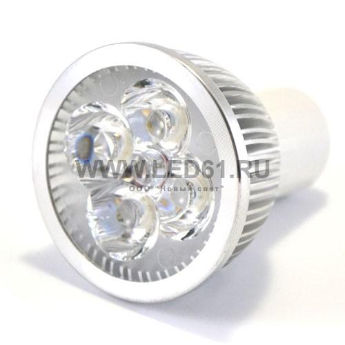 Точечная светодиодная лампа MR16 4x1 Вт 220В