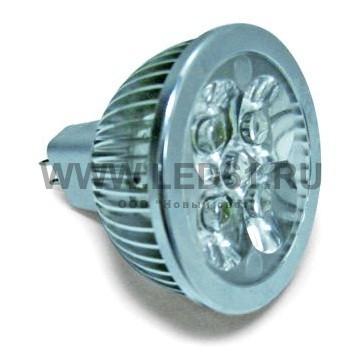 Точечная светодиодная лампа MR16 4x1 Вт 12В