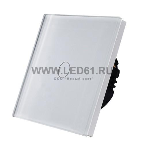 Светодиодный диммер 220В 700Вт стекло белый