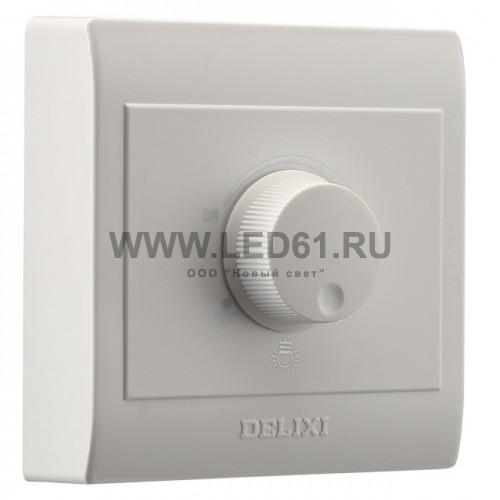 Светодиодный диммер 220В 200Вт эконом накладной