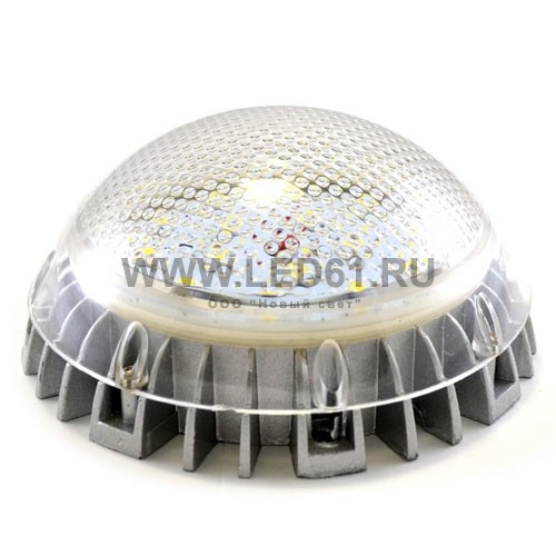 Светодиодный светильник ЖКХ 15Вт с датчиком