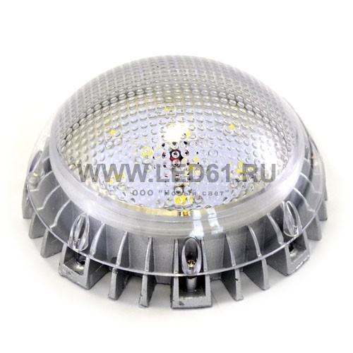 Светодиодный светильник ЖКХ 9Вт с датчиком