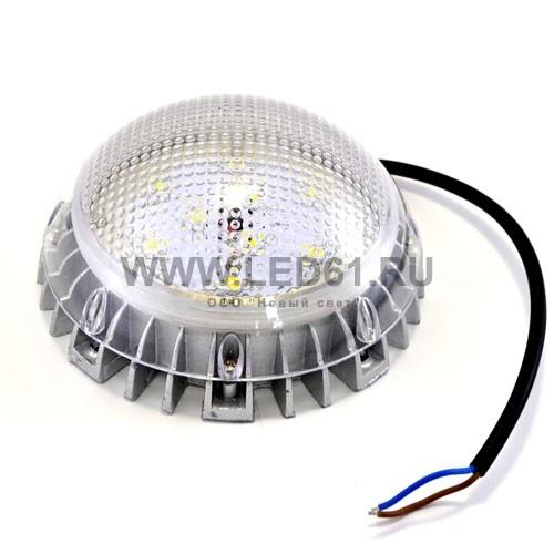 Светодиодный светильник ЖКХ 9Вт. Внутр. ист.