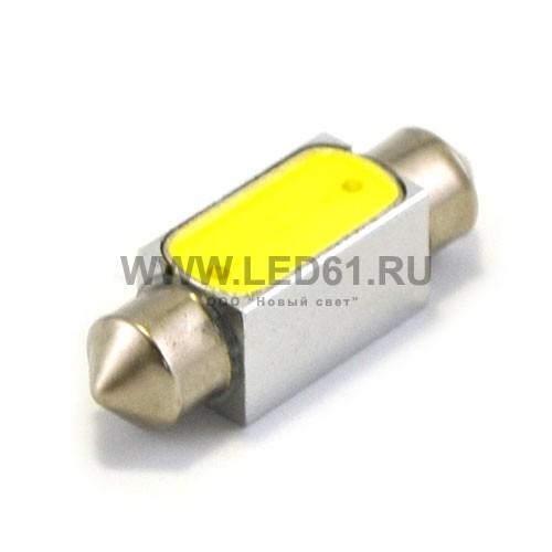 Светодиодная автомобильная лампа SV8.5 (C5W) 1.5Вт