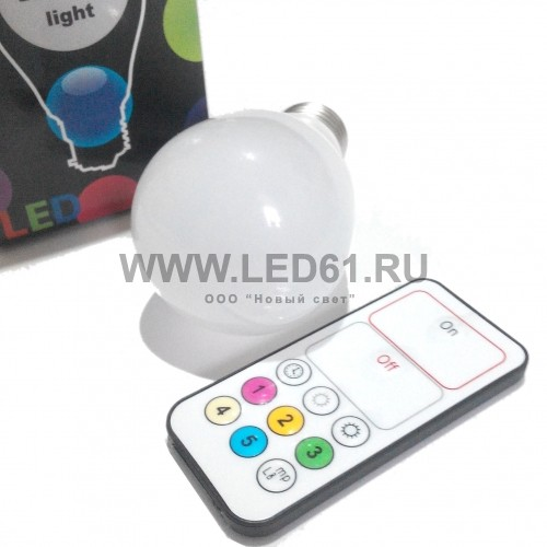 Светодиодная лампа MIX E27 3Вт