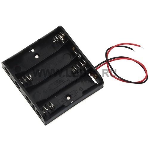 Аккумуляторный блок для инвертора DC6V 4xAA