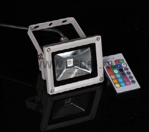 Светодиодный прожектор 50Вт RGB