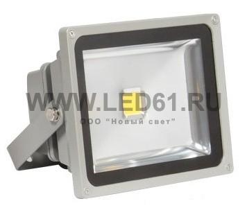 Светодиодный прожектор 30Вт белый  тип1