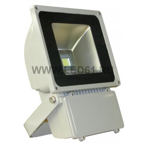 Светодиодный прожектор 80Вт белый