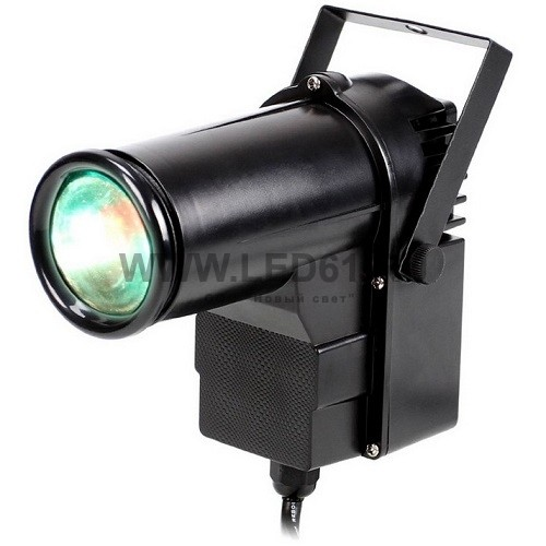 Светодиодный узконаправленный прожектор 15Вт RGBW DMX512