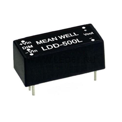 Блок питания MeanWell LDD-500L